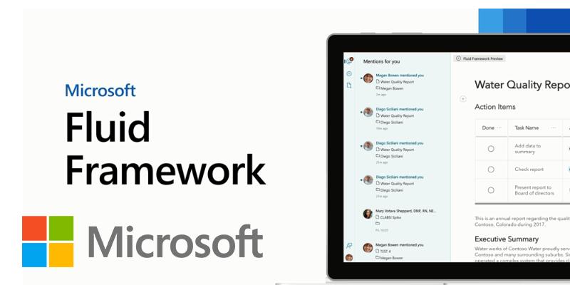 Fluid Framework: Microsoft's New Types of Office Document