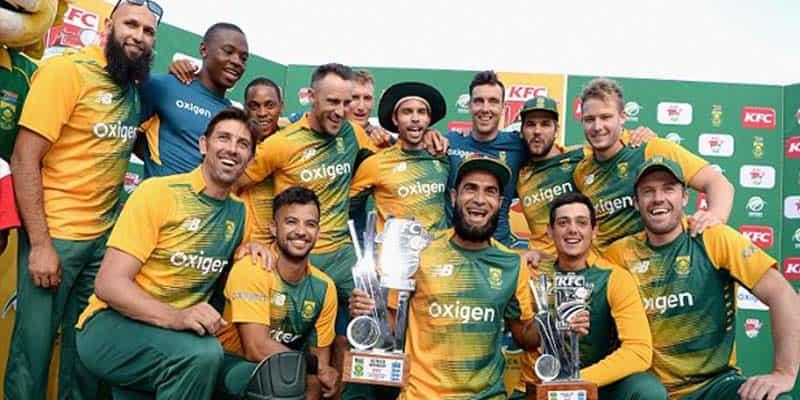 South Africa men's cricket team return to training