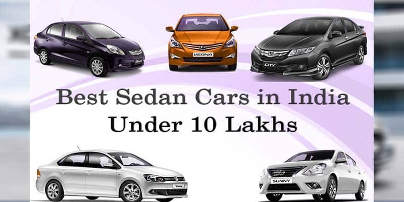 Best Sedans Car Under ₹10 lakh in India