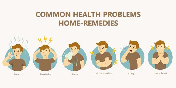 Common Health Problems home-remedies with kitchen food and spices