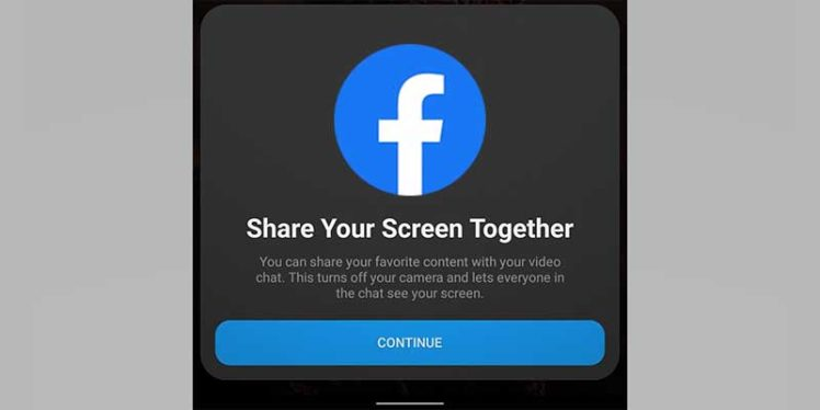 Facebook Messenger adds screen sharing feature to its Android and iOS app.
