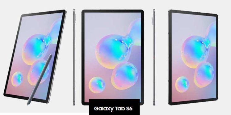Samsung Galaxy Tab S6 - LTE, WiFi
