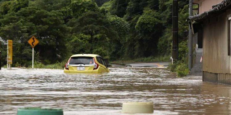 Heavy rains kill 18 in Japan