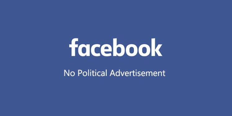 Facebook plans to ban political ads in US like Twitter.
