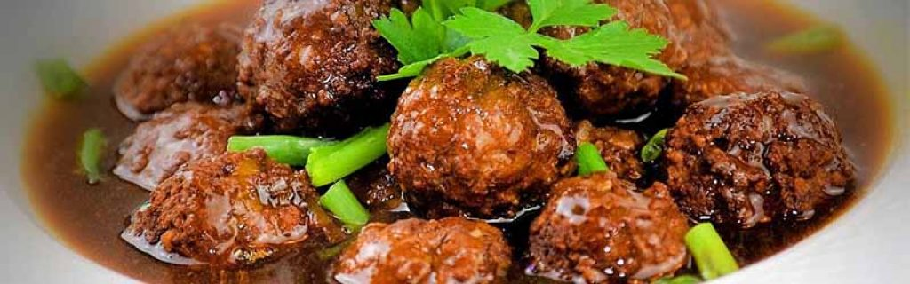 Braised Pork Balls in Gravy