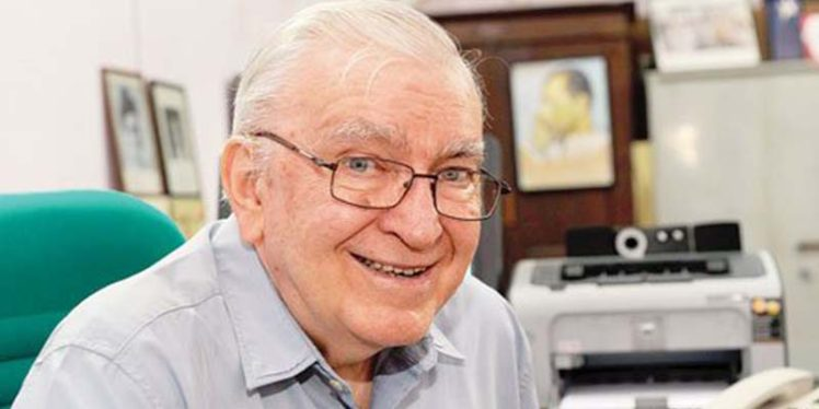 Film academician Father Gaston Roberge died at 85