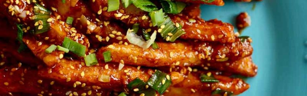 Honey Chilli Potato - chinese food