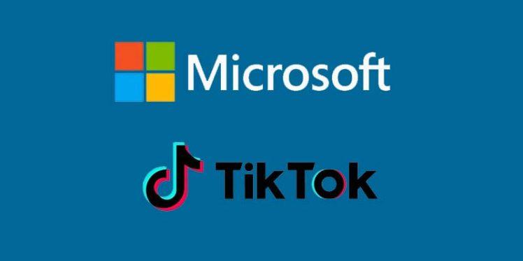 Microsoft confirms his plan to buy US arm of TikTok