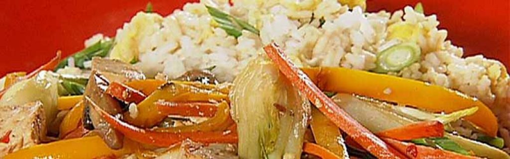 Stir Fried Tofu with Rice