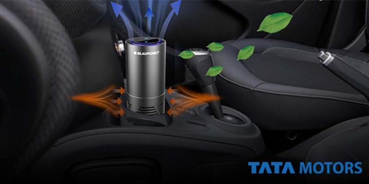 Tata Motors launched a range of health and Hygiene accessories for the clients.