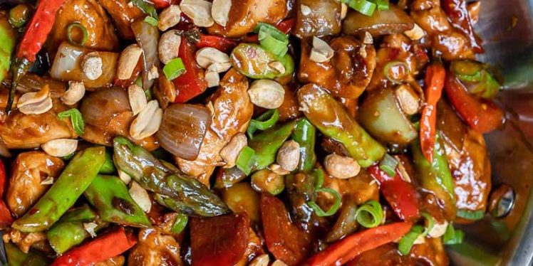 Chinese Style Kung Pao Chicken Recipe