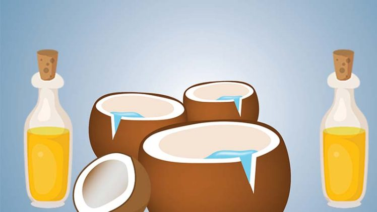 Top 5 Health Benefits of Coconut Oil.