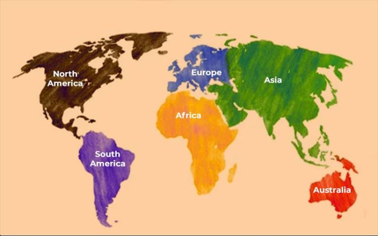 Which Continent is Most Advanced in Technology?