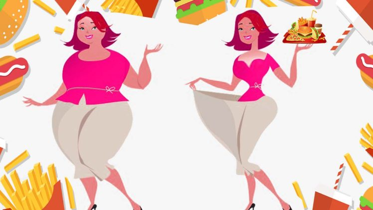 Lose Weight with Fast Food (Junk Food) - without Workout.