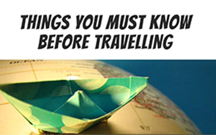 Important Travel Tips